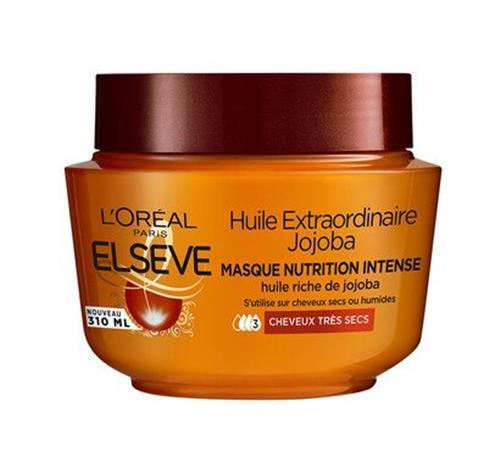 Elsève Masque Huile Extraordinaire Cheveux Secs à tré sec300ml