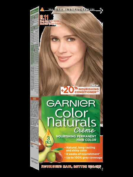 Color Naturals 8.11 Blond Clair Cendré Profond