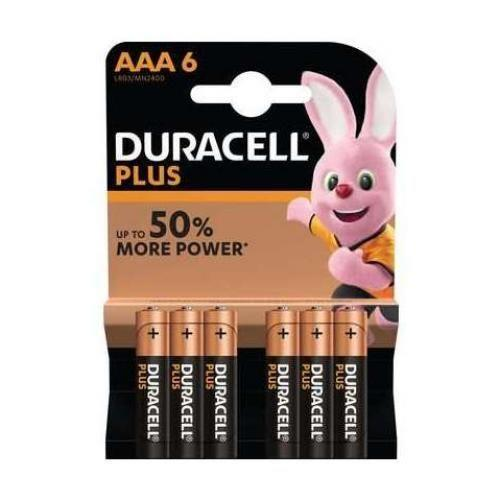 Duracell AAA4+2 Plus Power