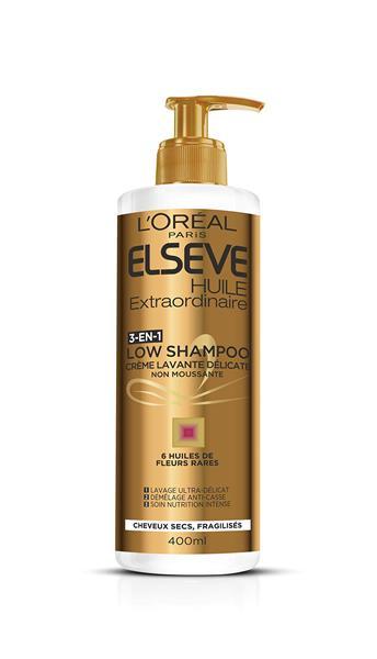 Elseve Low Shampoo Huil Extraordinaire 400ml