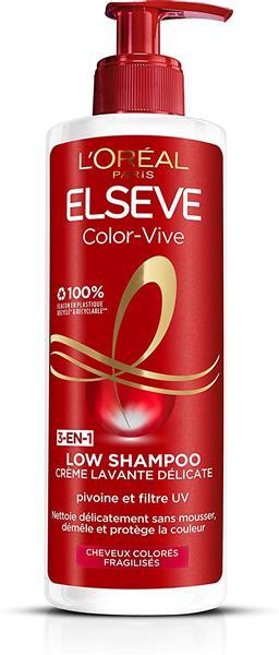 Elseve Low Shampoo Color Vive 400ml