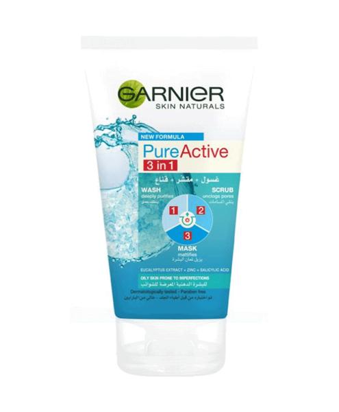Skin Natural Pure Active 3en1 - 150ml