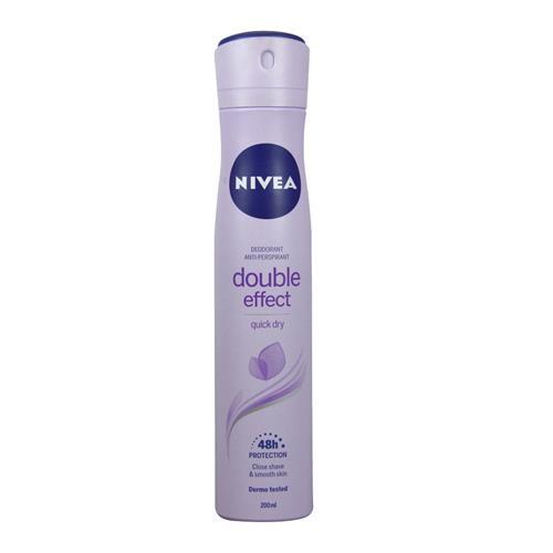 Nivea - déodorant anti-transpirant femme - double effect -200ml