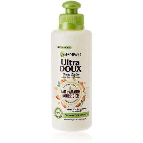 Ultra Doux Crème Soin Sans Rinçage Lait d'Amande 200ml