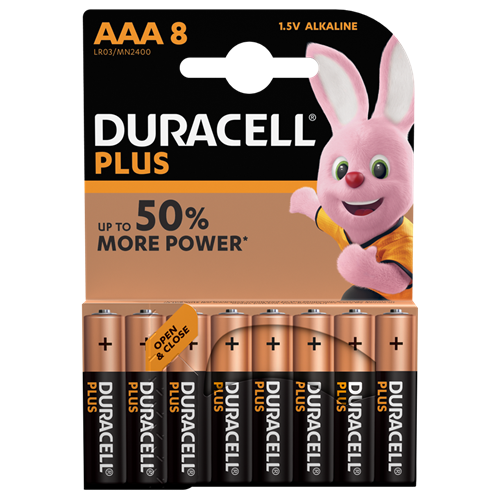 Duracell  AAA6+2 Plus Power