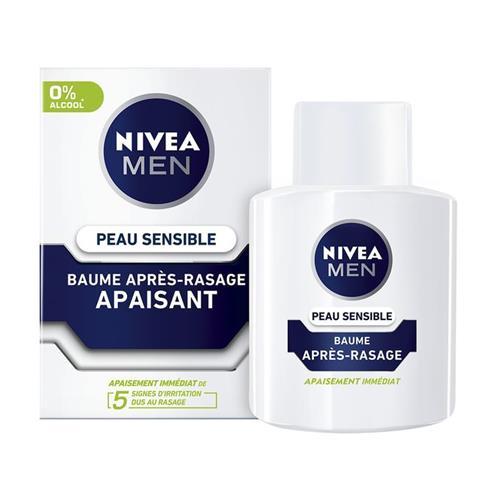 Nivea Baume Après-Rasage Peau Sensible 100ml Apaisant