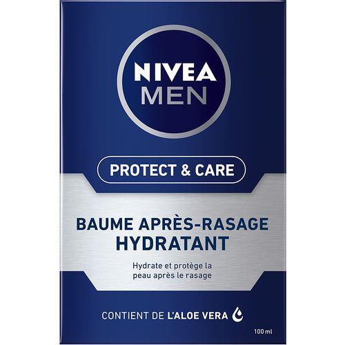Nivea Baume Après-Rasage Protect & Care 100ml Hydratant