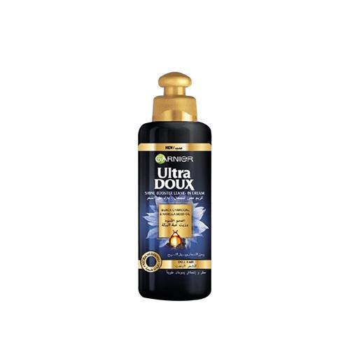Ultra Doux Crème Soin Sans Rinçage Charbon Noir et Huile de Nigelle 200ml