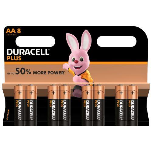 Duracell  AA6+2 Plus Power