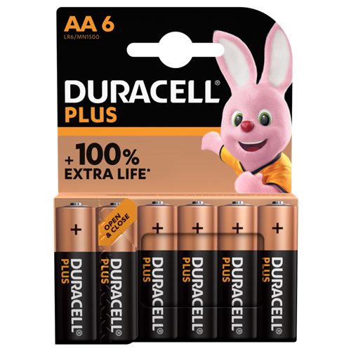Duracell AA4+2 Plus Power